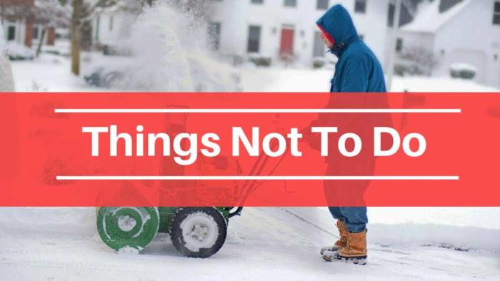 how to use snow blower, snow blower, best snow blower