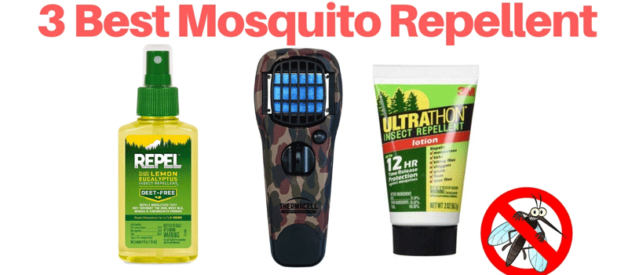 3 Best Mosquito Repellent