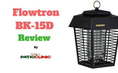 Flowtron BK-15D Review | Electronic Insect Killer - Patio Clinic