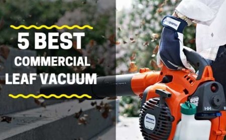 5 Best Commercial Leaf Vacuum